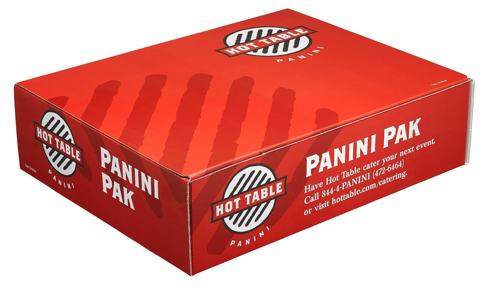 Hot Table Catering Panini Box